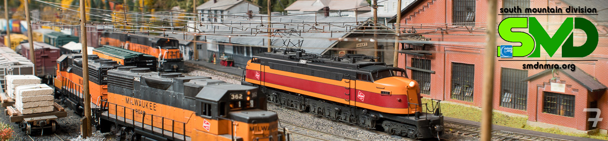 South Mountain Division, Mid-Eastern Region, National Model Railroad Association